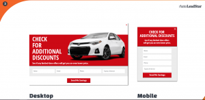 mobile friendly pop up